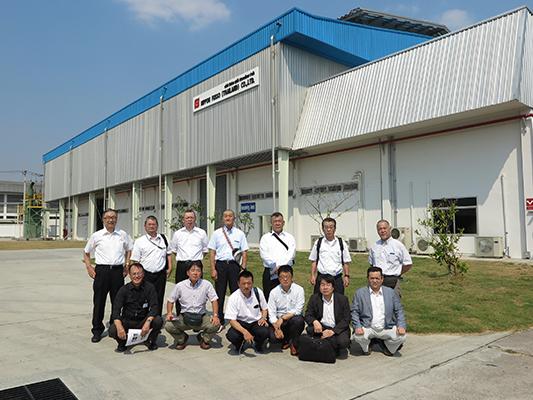 タイ進出の日系中小企業の訪問視察
